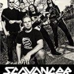 Scavanger kiinnitetty Rock It Up Recordsille