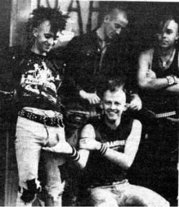 The Exploited kiinnitetty Nuclear Blast Recordsille