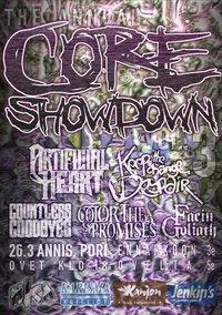 Core Showdown järjestetään jälleen maaliskuun lopulla