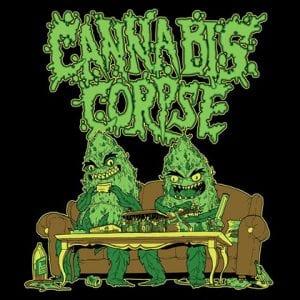 Cannabis Corpse kiinnitetty Season Of Mist Recordsille