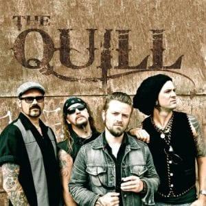 The Quill kiinnitetty Metalville Recordsille