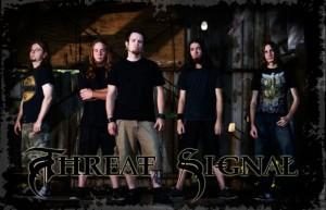 Threat Signal vaihtaa rumpalia