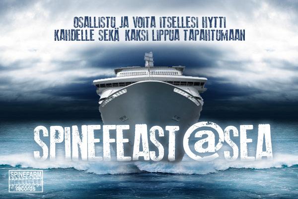 Spinefeast At Sea 2012