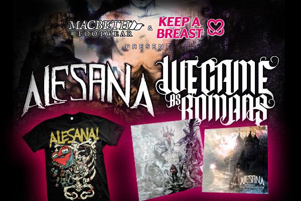 Alesana ja We Came As Romans