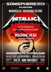 Sonispheren aikataulut julki