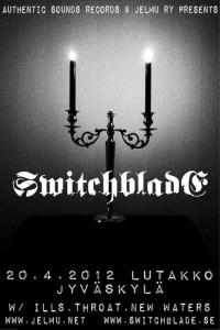 Switchblade Suomeen huhtikuussa