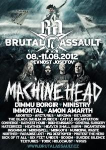 Brutal Assault järjestetään elokuussa Tsekeissä
