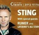 Sting Helsinkiin kesäkuussa