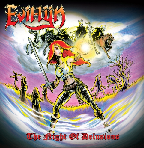 Evil-Lÿn – The Night Of Delusions – EP