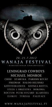 Wanaja Festival julkaisi ensimmäiset kiinnityksensä