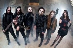 Cradle Of Filth studioon huhtikuussa