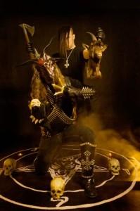Satan's Wrath kiinnitetty Metal Blade Recordsille