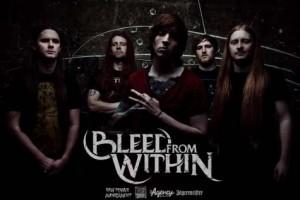 Bleed From Within On The Rocksiin syyskuussa