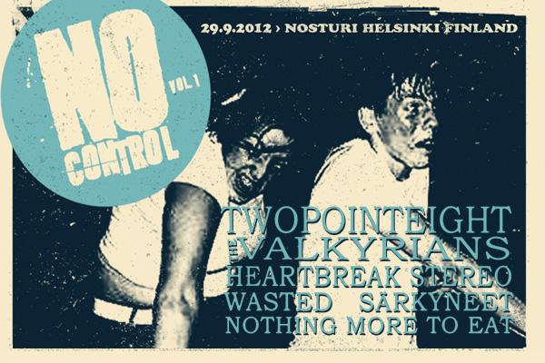 No Control vol. 1 -punkfestivaali