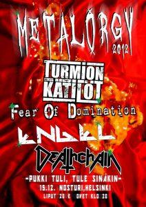 Metalorgy 2012 peruuntuu