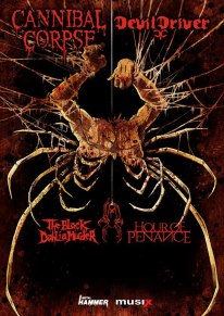 Hour Of Penance korvasi Winds Of Plaguen Cannibal Corpsen kiertueella
