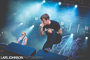 Parkway Drive live Rock The Beach 2013