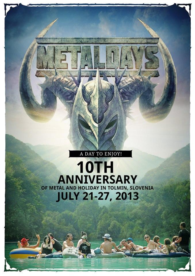 Metal Days Sloveniassa heinäkuussa