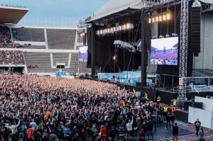Iron Maiden @ Olympiastadion, Helsinki 20.7.2013