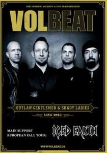 Iced Earth lämmittelee Volbeattia tulevalla Euroopan kiertueella