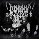 Demonic Christ kiinnitetty Hells Headbangers Recordsille