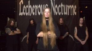 Lecherous Nocturne kiinnitetty Willowtip Recordsille