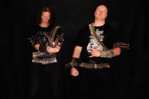 Abominator kiinnitetty Hells Headbangers Recordsille