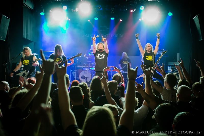 Omnium Gatherum 2013 live 2