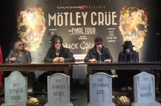 """Mötley Cruen Mick Mars haastattelussa vuonna 2014: """"Lupaan koko maailmalle ilmaiset liput mikäli teemme paluun"""""""