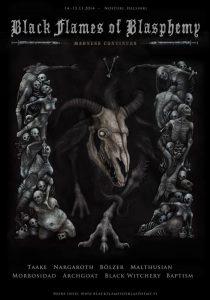 Black Flames Of Blasphemy 2014