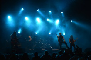 Sacrilegious Impalement (pikkulava) Nummirock Live 2014
