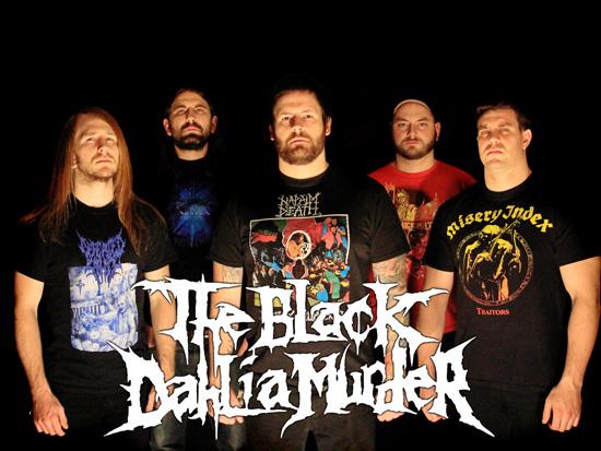 The Black Dahlia Murder klubikiertueelle Suomeen