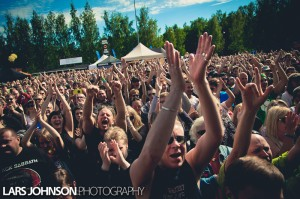 Rockfestarit ennen ja nyt