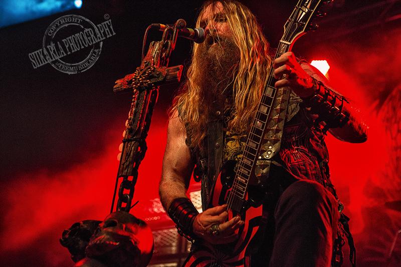 Black Label Society @ The Circus, Helsinki 7.7.2014