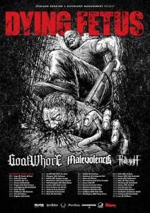 Dying Fetus kiertue 2014