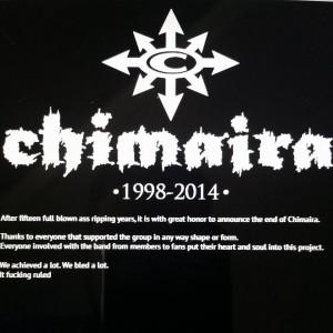 Chimaira 1998-2014