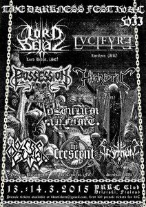 The Darkness Festival VII ensimmäiset esiintyjät julki