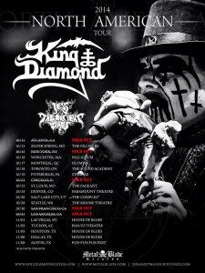 Jess and the Ancient Ones lämmittelijäksi King Diamondin Pohjois-Amerikan kiertueelle