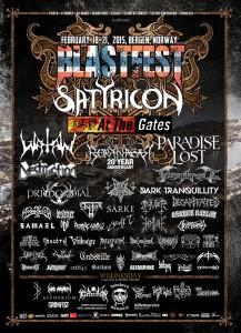 Blastfestin viimeiset esiintyjät julki
