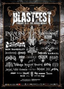 Blastfest laajenee neljän päivän mittaiseksi