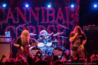 Cannibal Corpse @ Nosturi, Helsinki 15.10.2014
