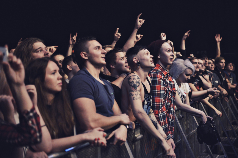 Carnifex, Parkway Drive @ The Circus, 26.11.2014