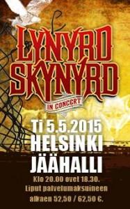 Lynyrd Skynyrd Suomeen toukokuussa