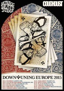 Demonic Death Judge sekä Coughdust yhteiselle Euroopan kiertueelle