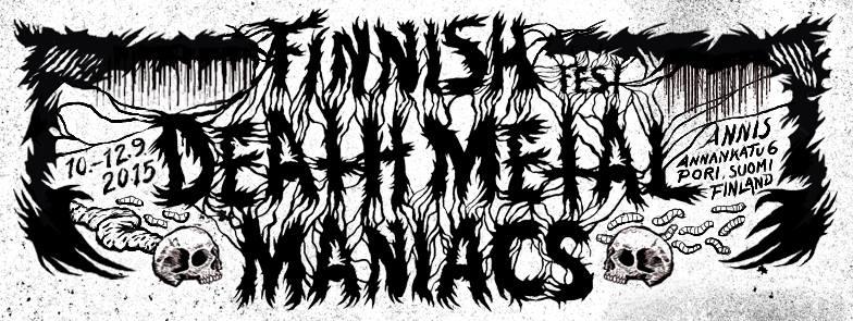 Finnish Death Metal Maniacs Fest Poriin syksyllä
