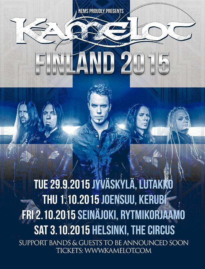 Kamelot Suomi kiertue