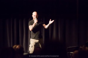 Scott Ian Speaking Words Tour @ Lasipalatsi Bio Rex