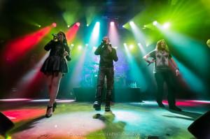 Amaranthe @ The Circus, Helsinki 14.2.2015