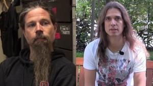Megadethin Dave Mustaine ja Lamb Of Godin Chris Adler nähty kahvittelemassa