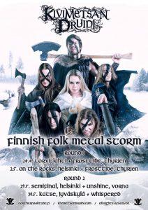 Kivimetsän Druidi kiertää Suomea neljän keikan verran huhti-toukokuussa